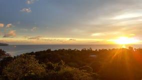 Sunrise time. Amazing lighting sunrise ood vibes health Royalty Free Stock Photo