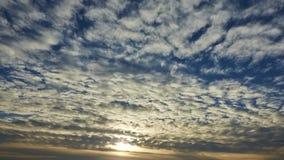 Sunrise timelapse stock footage