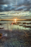 Sunrise on Tobermory. Big Tub Harbour sunrise on a summer day Stock Photography