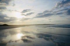 Sunrise, Tortuga Beach Santa Cruz Galápagos royalty free stock photo