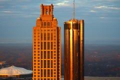 Sunrise Towers royalty free stock photo