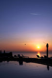 Sunrise in Tropical Island Stock Photos