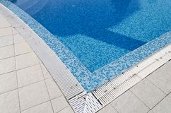 Tropical swimming pool Stock Images