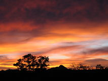 Sunrise in utah Stock Photography