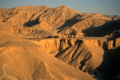 Sunrise, Valley of the Kings Stock Photos