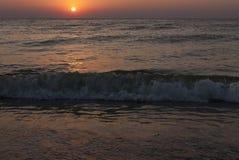 Sunrise at Vama Veche Royalty Free Stock Photos