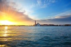 Sunrise in Venice. Image of the sunrise in Venice Stock Photo