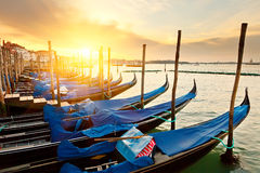 Sunrise in Venice Stock Photos