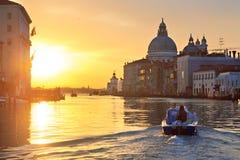 Sunrise in Venice Royalty Free Stock Photos