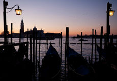 Sunrise in Venice Stock Image