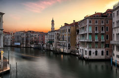 Sunrise in Venice Royalty Free Stock Photo