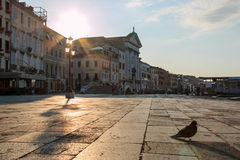 Sunrise in Venice Stock Images