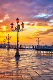 Sunrise in Venice Royalty Free Stock Images