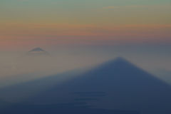 Sunrise View From Mt.Rinjani-Lombok,Indonesia,Asia royalty free stock image