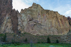 Sunrise view of Smith rock State Park in Oregon Stock Photos