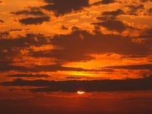 Sunrise at Virginia Beach Royalty Free Stock Photo