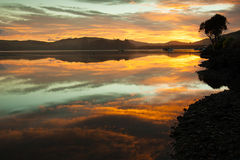 Sunrise, Waikawa bay Stock Photography
