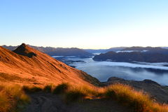 Sunrise in Wanaka Stock Image