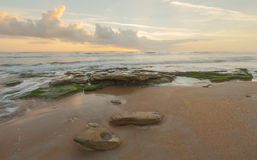Sunrise at Washington Oaks State Park, Florida Stock Images