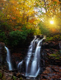Sunrise Waterfall Royalty Free Stock Images