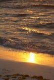 Sunrise wave Royalty Free Stock Photo