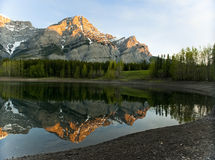 Sunrise at Wedge Pond Royalty Free Stock Photo