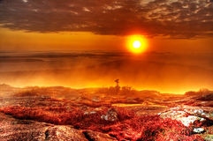 Sunrise in New England Royalty Free Stock Photos