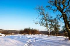 Sunrise in winter mountains . Sunrise in Carpathian Mountains, U Royalty Free Stock Photos
