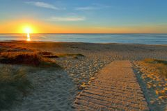 Sunrise in Wollongong, New South Wales Stock Photo