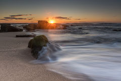 Sunrise at Wombarra Beach Royalty Free Stock Image