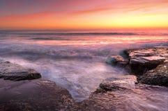 Sunrise at Wombarra NSW Australia Stock Image