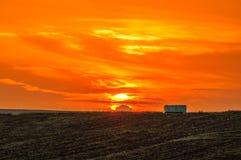 Sunrise in Yambol, Bulgaria 2 stock photos