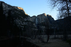 Sunrise in Yosemite Falls Royalty Free Stock Photography