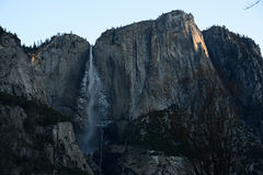 Sunrise in Yosemite Falls Stock Images