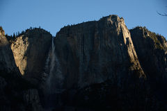 Sunrise in Yosemite Falls Royalty Free Stock Images