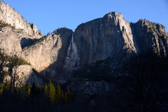 Sunrise in Yosemite Falls Royalty Free Stock Photos