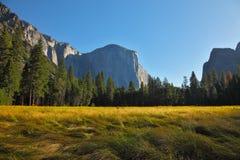 Sunrise in Yosemite park. Stock Photography