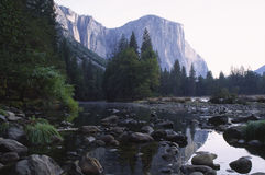 Sunrise in Yosemite Valley Stock Image