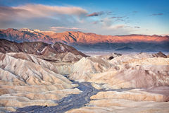 Sunrise from Zabriskie Point Royalty Free Stock Photos