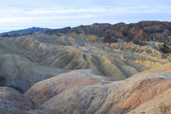 Sunrise in Zabriskie Point Royalty Free Stock Image
