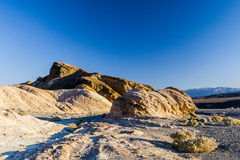 Sunrise at Zabriskie Point, Death Valley National Park, USA Stock Photography