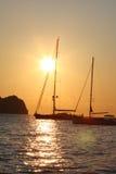 Sunrise in Zakynthos, Greece Stock Photo