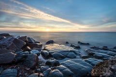 SunriseLake przełożony Obrazy Royalty Free