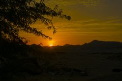 sunrises royalty-vrije stock foto