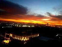 sunrises fotos de stock