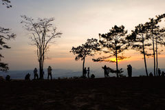 sunrises stockfoto