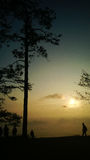 sunrises royalty-vrije stock afbeelding