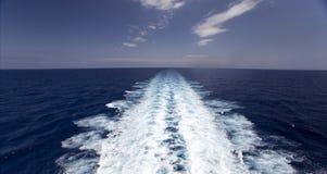 Sunrising op veerboot stock afbeeldingen