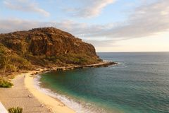 Sunrising w Hawaje Obraz Stock