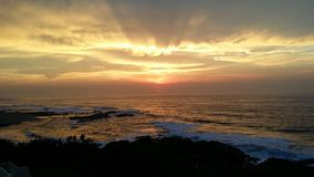 Sunrize greating мир Стоковое Фото